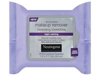 Neutrogena Makeup Remover Cleasing Towelettes, Night Calming, 25 Count - Image 2