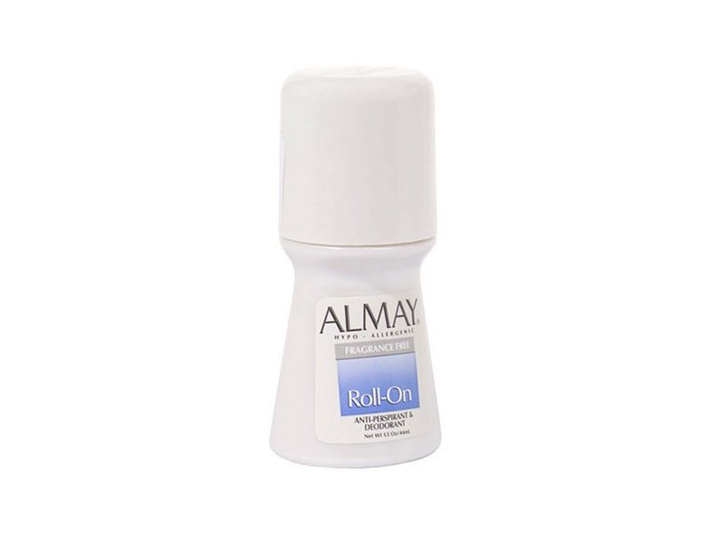 Almay Roll-On Antiperspirant & Deodorant, Fragrance Free, 1.5 fl oz