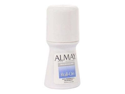 Almay Roll-On Antiperspirant & Deodorant, Fragrance Free, 1.5 fl oz - Image 1