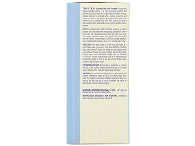 Aveeno Baby Eczema Therapy Soothing Baby Bath Treatment, 5 Count, 3.75oz - Image 3