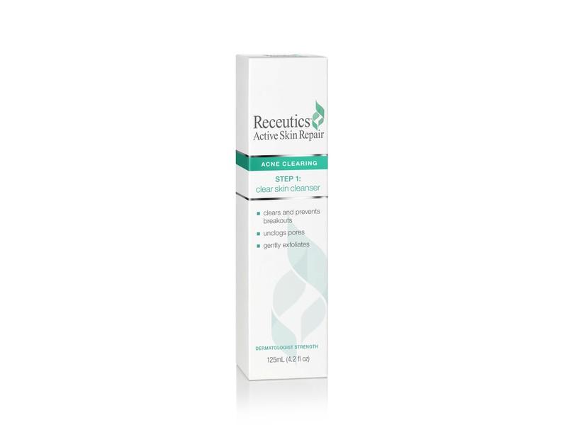 Receutics Active Skin Repair, Acne Clearing, 4.2 fl oz