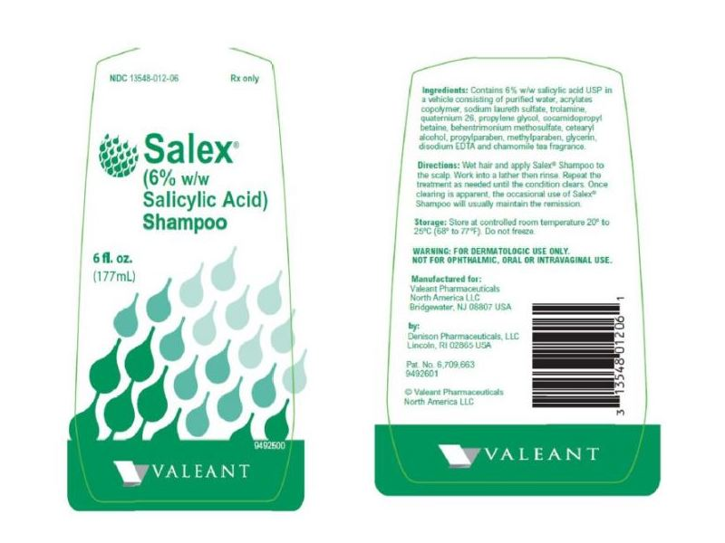 Salex Shampoo 6% (RX), 177 ml, Valeant (ICN)