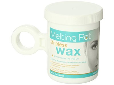 Melting Pot Microwavable Stripless Wax with Tea Tree Oil, 8 Ounce - Image 5