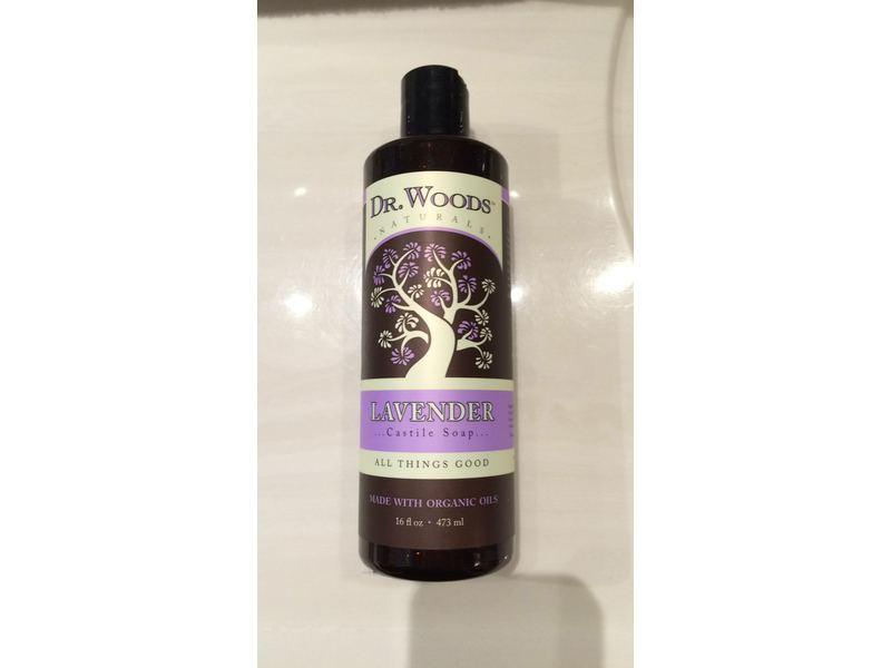 Dr  Woods Naturally Castile Soap, Lavender, 16 fl oz