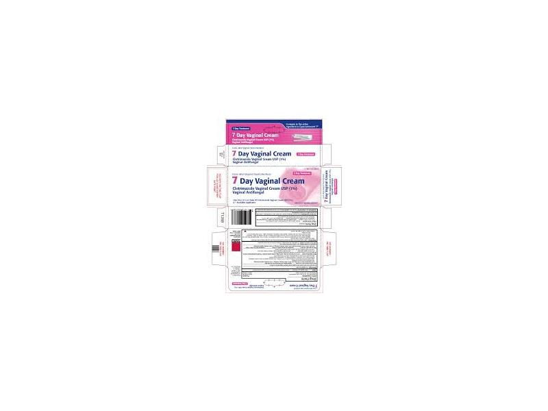 7 Day Vaginal Cream 1% (RX) 1.5 Oz , Taro Pharmaceuticals
