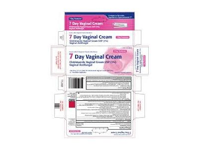 7 Day Vaginal Cream 1% (RX) 1.5 Oz , Taro Pharmaceuticals - Image 1