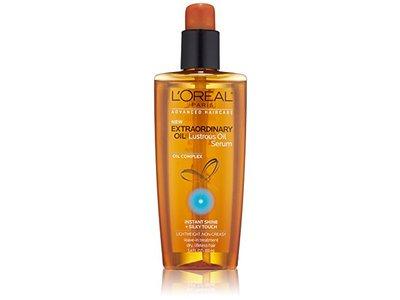 L'Oreal Paris Hair Care Advanced Extraordinary Lustrous Oil Serum Leave in Treatment, 3.4 Fluid Ounce