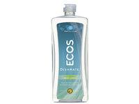 Earth Friendly ECOS Dishmate Dish Liquid, Free & Clear, 25 fl oz - Image 2