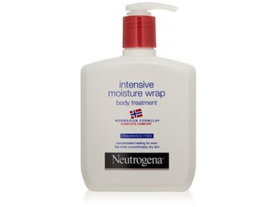 Neutrogena Norwegian Formula, Intense Moisture Wrap, Body Treatment, Fragrance Free, 10.5 Ounce