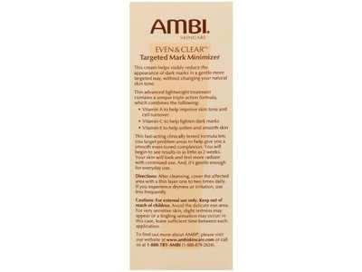 Ambi Even & Clear Targeted Mark Minimizer, johnson & johnson - Image 3