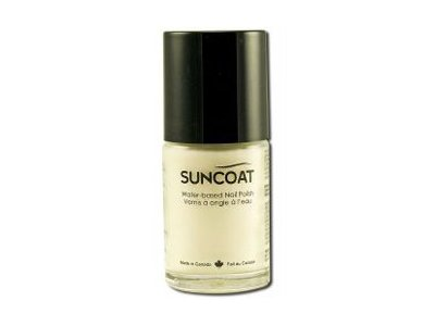Suncoat Water-Based Nail Polish, Pearl Purple, 0.5 oz