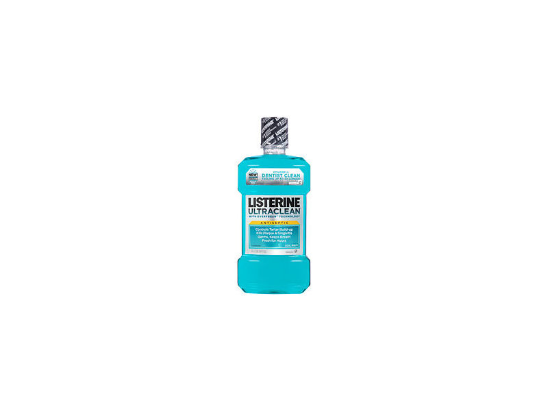 Listerine Ultraclean Antiseptic Mouthwash With Tartar Protection & Evenfresh - Cool Mint, Johnson & Johnson