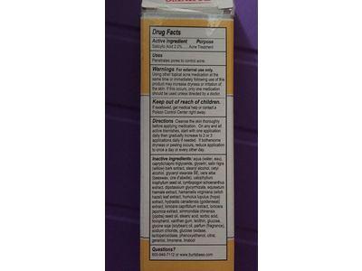 Burt's Bees Natural Acne Solutions Maximum Strength Spot Treatment Cream, 0.5 oz - Image 4