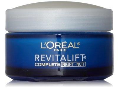 L'Oreal Paris RevitaLift Complete Night Cream, 1.7 Fluid Ounce