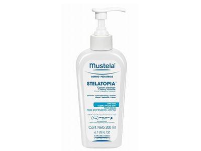 Mustela Stelatopia Cream Cleanser 6.7 oz (198 ml)