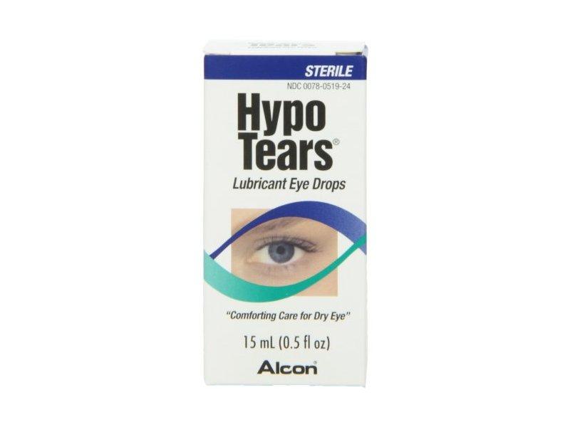 Hypo Tears Lubricant Eye Drops, Sterile