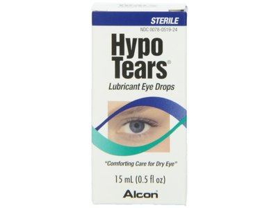 Hypo Tears Lubricant Eye Drops, Sterile - Image 1