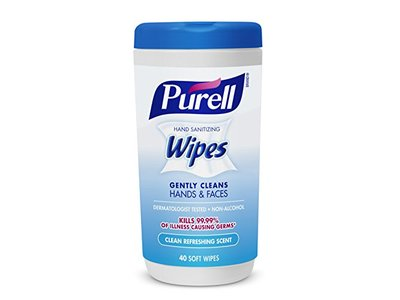 Purell Hand Sanitizing Wipes, Clean Refreshing Scent, 40 Count