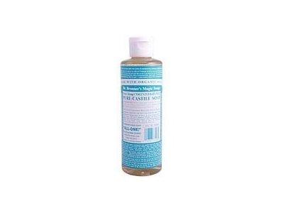 Dr. Bronner's Baby Unscented Pure-Castile Liquid Soap, 8 fl oz