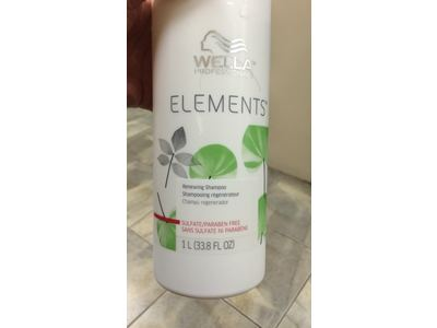 Wella Elements Renewing Shampoo 33.8 oz / Liter sulfate paraben free - Image 3