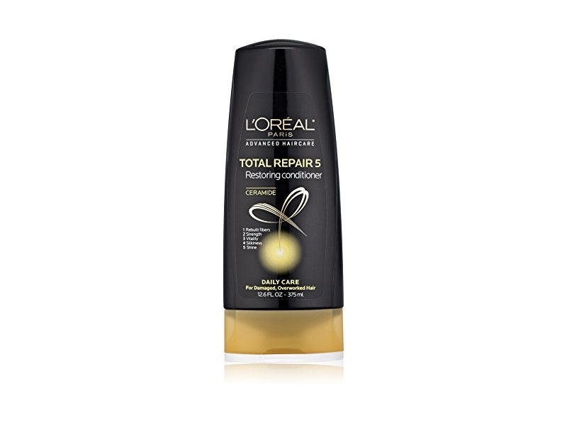 L'Oreal Paris Advanced Haircare Total Repair 5 Restoring Conditioner, 12.6 Fl Oz