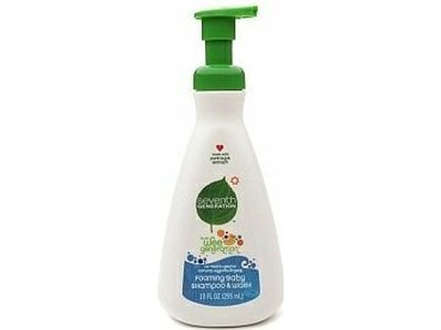 Seventh Generation Baby Shampoo & Wash Foam - Image 1