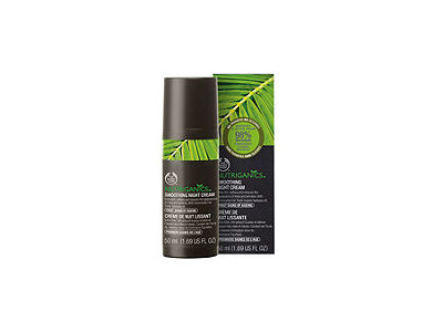 Nutriganics Smoothing Night Cream, The Body Shop - Image 1