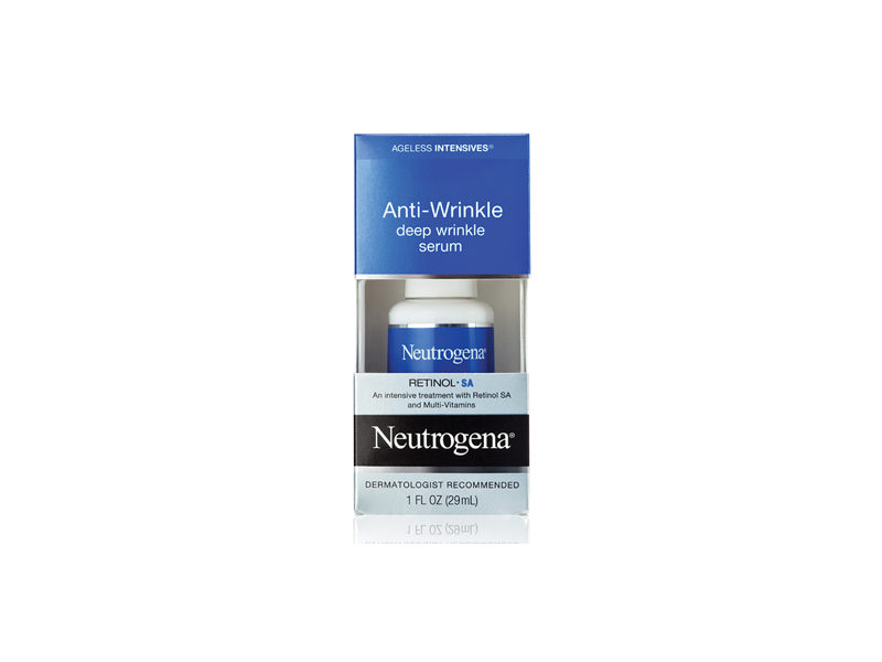 Neutrogena Ageless Intensives Anti-wrinkle Deep Wrinkle Serum, Johnson & Johnson