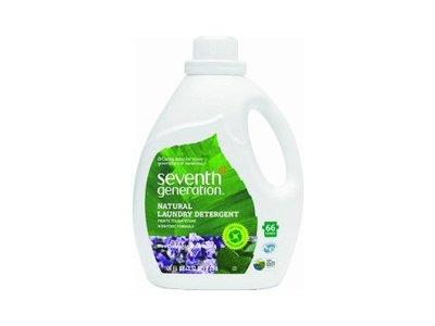 Seventh Generation Natural Laundry Detergent, Lavender & Blue Eucalyptus, 50 fl oz (Pack of 6)