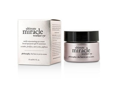 Philosophy Ultimate Miracle Worker Eye SPF 15 Sunscreen, 0.5 Ounce