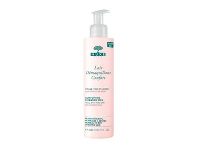 Nuxe Paris Comforting Cleansing Milk With Rose Petals, 6.7 fl oz.