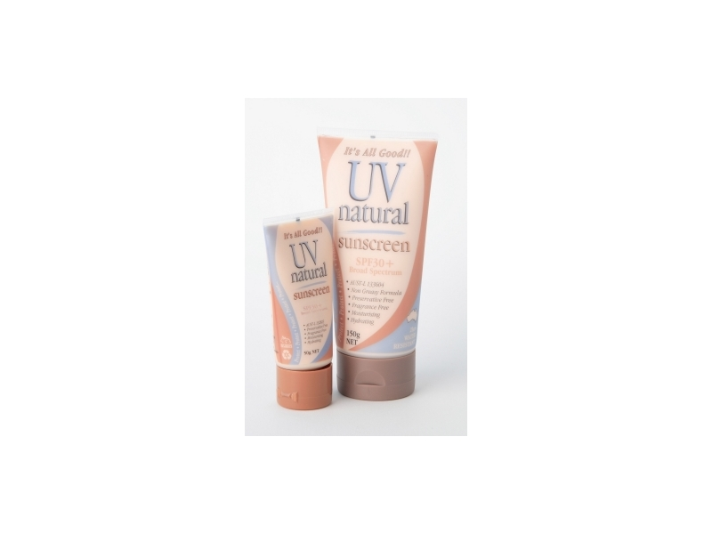 UV Natural SPF 30+ Sunscreen, UV Natural International Pty Ltd