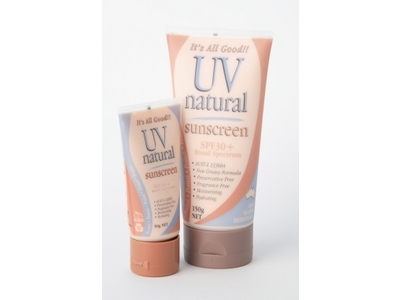 UV Natural SPF 30+ Sunscreen, UV Natural International Pty Ltd - Image 1