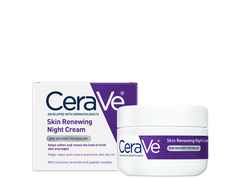 CeraVe Skin Renewing Night Cream, 1.7 oz