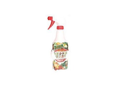 Natural Fruit and Vegetable Wash, 16-Ounce Spray - Pack Of 24