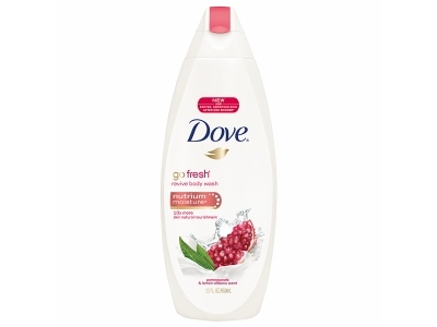Dove Go Gresh Revive Body Wash With Nutrium Moisture, Pomegranate & Lemon Verbana - Image 1