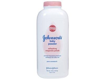 Johnson's baby pure conrstarch powder with magnolia petals, johnson & johnson - Image 1