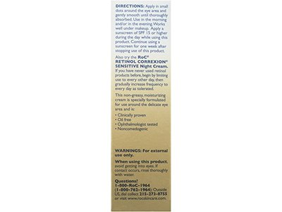 ROC Retinol Correxion Sensitive Eye Cream, Johnson & Johnson - Image 4