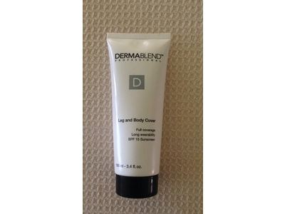 Dermablend Leg and Body Cover, SPF 15, Light - Image 4