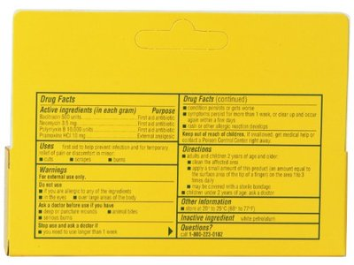 Neosporin First Aid Antibiotic Ointment Maximum Strength Pain Relief, 1-Ounce - Image 8