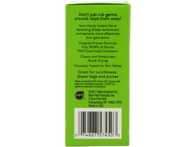 Sani-Hands Kids Instant Hand Sanitizer Wipes, 24 Count - Image 6