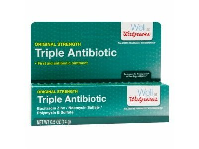 Walgreens Triple Antibiotic Ointment - 0.5 oz tube