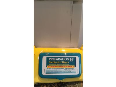 Preparation H Medicated Hemorrhoidal Wipes Refill, 48 Count - Image 6
