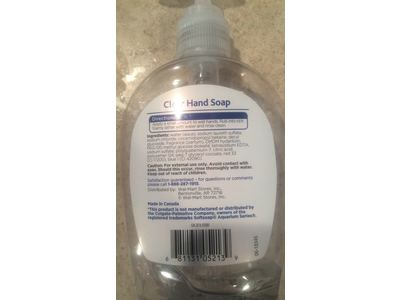 Equate Clear Hand Soap 7 5 Fl Oz 2 Pack Ingredients And