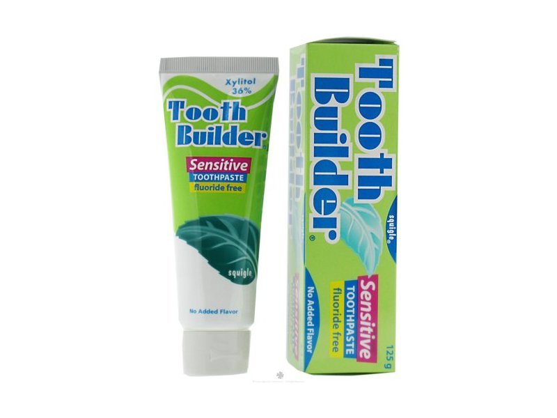 Squigle Tooth Builder Sensitive Toothpaste, 4 oz