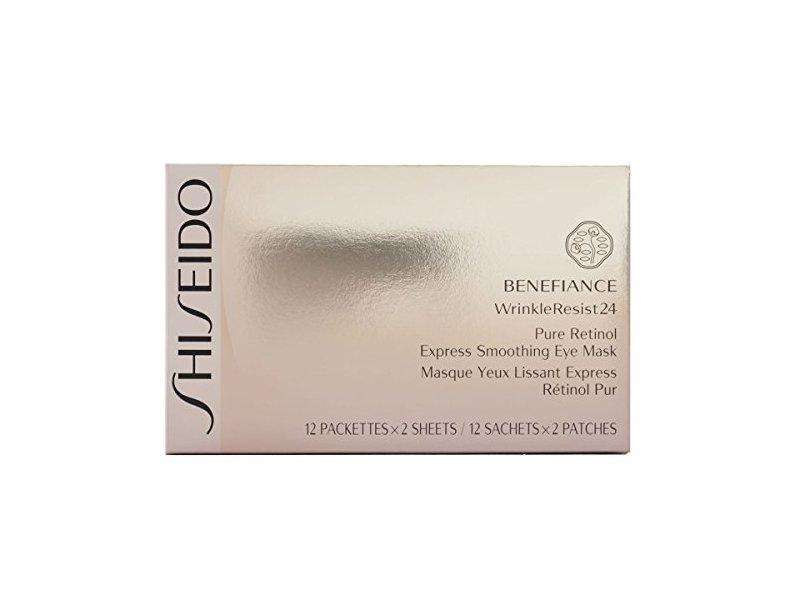 Shiseido Benefiance WrinkleResist24 Pure Retinol Express Smoothing Eye Mask for Unisex