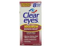 Clear Eyes Maximum Strength Redness Relief, .5 Fluid Ounce - Image 2