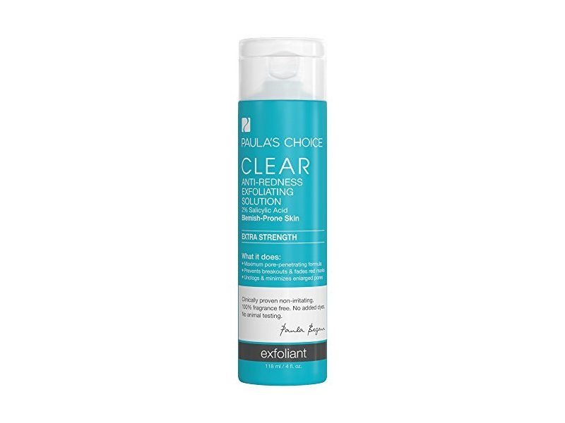 Paula's Choice Clear Extra Strength Anti-Redness Exfoliating Solution with 2% BHA Salicylic Acid, 4 fl oz