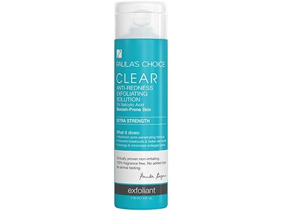 Paula's Choice Clear Extra Strength Anti-Redness Exfoliating Solution with 2% BHA Salicylic Acid, 4 fl oz - Image 1