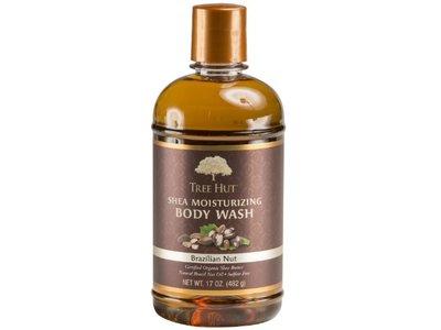 Tree Hut Shea Moisturizing Body Wash, Brazilian Nut, 17 oz